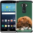 Dog Cat Puppy Designs Case Dual Layer Cover for LG G Vista 2 / LG G Stylo LS770