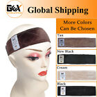 GEX Flexible Velvet Wig Grip Scarf Head Hair Wig Band Adjustable Fastern 2Colors