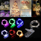20 LED 2M String Fairy Lights Battery Operated Xmas Party Ro