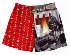 Mens Star Wars Darth Vader Fireplace Piano Holiday Christmas Boxer +Gift Bag S M