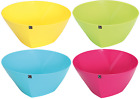 Quest cuisine viva Coloured BPA Free premium plastic large 27cm (dia) salad bowl
