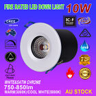6X10W COB LED DOWNLIGHT KIT FIRE RATED IP65 WATERPROOF DIMMABLE WARM/COOL WHITE