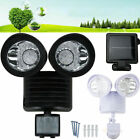 security light sensor settings - Lot Dual Security Detector Solar Powered Light Motion Sensor Outdoor 22 LED WA