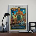 Big Trouble In Little China Movie Film Poster Print Picture A3 A4