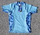 Wave Zone Rash Guard - Light Blue - Camo