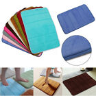 40*60cm Microfibre Bath Floor Mat Set Toilet Rug Bathroom Kitchen Anti Non Slip