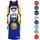NBA Adidas Authentic On Court Team Issued Pro Cut Jersey Collection Mens
