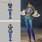 Overwatch Tracer Lena Oxton Blue Version Cosplay Costumes Full Set Halloween New