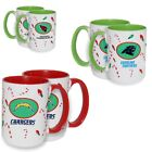 Officially Licensed NFL 2-pack Christmas Coffee Mugs 500296/500369-J $24.9 USD on eBay