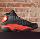 2017 Nike Air Jordan 13 XIII Retro Bred Black True Red White 3M 414571-004 Sz