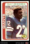 1978 Topps #188 Ray Rhodes Giants-FB NM