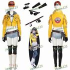 2017 New Final Fantasy Vol.15 Cidney Sexy Cosplay Costume Jacket Belt Glove Hat