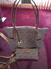 Michael Kors Hand bag and Wallet white PREOWNED