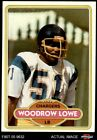 1980 Topps #68 Woodrow Lowe Chargers Alabama 8 - NM/MT $4.75 USD on eBay