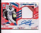2017 Unparalleled ZAY JONES FUTURE FRAME ROOKIE RC 3-COLOR PATCH AUTO /5 BILLS