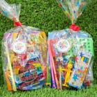 Childrens Pre Filled Party Bags, Star Cello Sweet Bags, Wedding Favour Bags