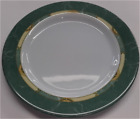 Gimex green marble 19cm Separates OR Sets of 4 melamine side tea plate