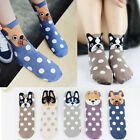 Multiple Colors Women Cotton Animal Socks Cute Pug Dog Husky Printed Socks Gift