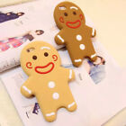 1pcs New Gingerbread Man Model Phone Case Covers IPhone 6 7 7P Shell Xmas Gifts