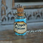 Handmade Angels Kisses small Potion Bottle Vial Necklace