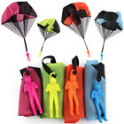 1PC New Parachute Outdoor Educational Toy Casual Hand Throw Kids Solid Color