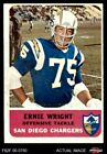 1962 Fleer #83 Ernie Wright Chargers EX $15.5 USD