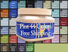 """Mellow White Chalk Furniture Paint Pint """"Great Covering Choose from 44 colors"""