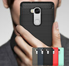 For Huawei Honor 5X / GR5 2016 Case Carbon Fiber Rugged Shockproof Rubber Cover
