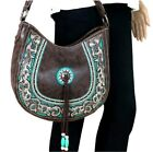 Native American Concho Beads Montana West Concealed Carry Purse Hobo