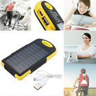 50000mAh Portable Solar Charger 2 USB 12 LED Battery Solar Power Bank for Phone