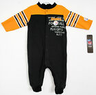 Pittsburgh STEELERS BABY Sleep and Play Creeper Sleeper Playsuit footed NEW