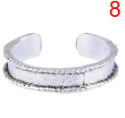 Womens Toe Rings Small Finger Ring Band Silver Plated Adjustable Jewellery Gift