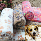 Pet Crate Mat Cat Dog Puppy Soft Warm Blanket Bed Cushion Kennel Cage Pad Soft