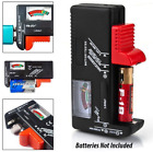 Universal Battery Tester Tool AA AAA C D 9V Button Cell Volt Tester Checker