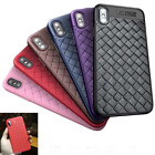 New Style Knit style Soft TPU silicone Case Cover For iphoneX iphone X + Film