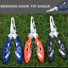 Fishing Plier Scissor Hook Remover Split Ring Tackle Tool Braid Line Lure Cutter