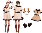 Christmas Women Sexy Costumes Cosplay Fashion Party Fancy Dress Uniform Clothes