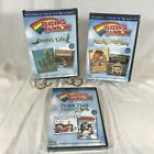 3 Reading Rainbow DVDs Family Matters How it's Made Desert Life Kids PBS 6 Shows