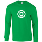 Green Lantern T Shirt Big Bang Sheldon Comics Justice League Long Sleeve S - 5XL image