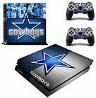 Dallas Cow Boys Vinyl Decal Skin Stickers For PS4 Playstaion Controllers NEW USA