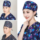 Pop Unisex Surgical Hat Adjustable Doctor Nurse Pharmacist Cap Cosy Surgery Hat