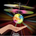 Disco Flash remote control Flying Ball Infrared Induction Colorful LED Helicopte