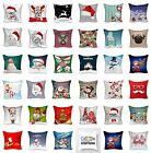 Christmas Cushion Cover Digital 3D Photo Print 18 x 18 Decorative Pillow Cover