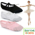Kyпить Ballet Canvas Dance Yoga Gymnastic Shoes Split Sole Adult's & Children's Sizes на еВаy.соm