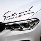Reflective Sports Mind New M Performance Headlight Eyebrow Decal Sticker for BMW