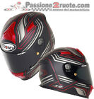Helmet Suomy SR Sport Racing Matt Red sz S Motorrad Full-face Integralhelm 全盔