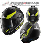 Helmet modular Shark Evo One Krono Mat Black Yellow White Motorrad