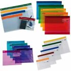 *OFFER* Snopake Zippa Bags Clear Tough Plastic Storage Zippy Files - FULL RANGE!