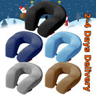 Large Travel Neck Pillow Memory Foam U Shaped Car Airplane Head Rest Support Pad