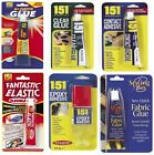 All Purpose Epoxy Adhesive Contact Fabric Elastic Clear Glue Extra Strong Value
